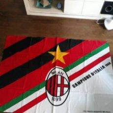 Coleccionismo deportivo: BANDERA GRANDE DEL MILAN. Lote 152798186