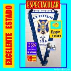 Coleccionismo deportivo: EXCELENTE Y ESPECTÁCULAR BANDERÍN DE LAS BODAS DE ORO DEL CLUB DEPORTIVO TENERIFE 1922 - 1972. Lote 153098558