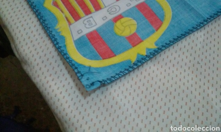 Coleccionismo deportivo: BANDERAS FLAGS ANTIGUAS DE RONALDO NAZARIO Y DEL FUTBOL CLUB BARCELONA - Foto 9 - 153260206