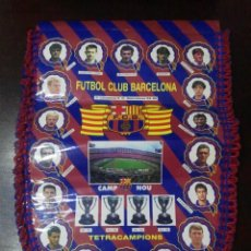 Coleccionismo deportivo: BANDERIN FUTBOL CLUB BARCELONA 94 - 95 1994 - 1995. Lote 153368510