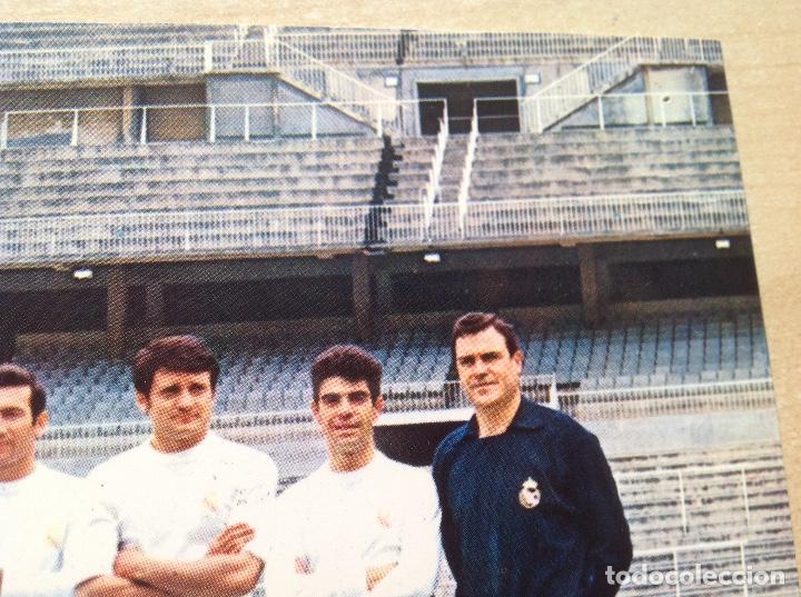 Coleccionismo deportivo: Postal del Real Madrid de la temporada 1967-68, no este,Liga 67/68 - Foto 6 - 154277786