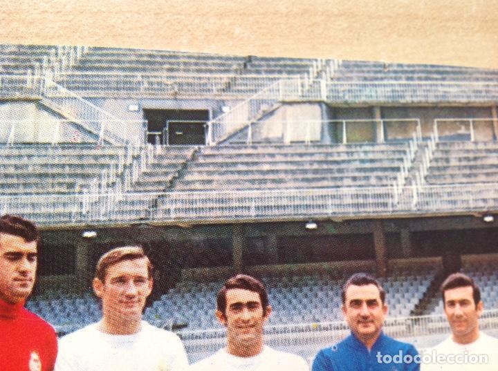 Coleccionismo deportivo: Postal del Real Madrid de la temporada 1967-68, no este,Liga 67/68 - Foto 7 - 154277786