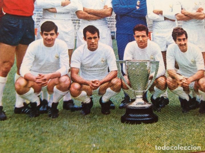 Coleccionismo deportivo: Postal del Real Madrid de la temporada 1967-68, no este,Liga 67/68 - Foto 8 - 154277786