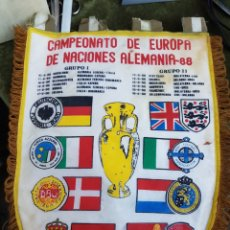 Coleccionismo deportivo: BANDERIN CAMPEONATO DE EUROPA ALEMANIA 88. Lote 154676112