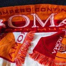 Coleccionismo deportivo: BUFANDA DE LA ROMA CAPUT MUNDI L IMPERIO CONTINUA. Lote 156503434