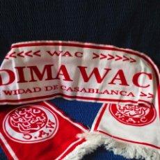 Coleccionismo deportivo: BUFANDA WYDAD CASABLANCA (WAC CASABLANCA) (MARRUECOS). Lote 156504422