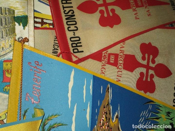 Coleccionismo deportivo: gran LOTE 30 BANDERINES VARIADOS ANTIGUOS CIUDADES ESPAÑA EUROPA DOMUND CANARIAS ALICANTE ETC - Foto 9 - 134900902