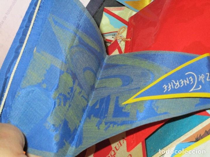 Coleccionismo deportivo: gran LOTE 30 BANDERINES VARIADOS ANTIGUOS CIUDADES ESPAÑA EUROPA DOMUND CANARIAS ALICANTE ETC - Foto 17 - 134900902