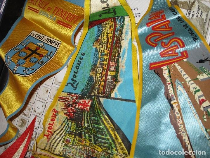 Coleccionismo deportivo: gran LOTE 30 BANDERINES VARIADOS ANTIGUOS CIUDADES ESPAÑA EUROPA DOMUND CANARIAS ALICANTE ETC - Foto 22 - 134900902