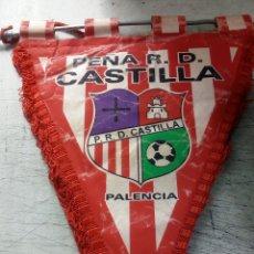 Coleccionismo deportivo: PEÑA R. D CASTILLA PALENCIA. CLUB DE FÚTBOL.. Lote 156837674
