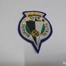 Coleccionismo deportivo: ESCUDO DE TELA BURGOS CLUB FÚTBOL. Lote 159339894