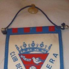 Coleccionismo deportivo: BANDERIN CLUB DEPORTIVO ZUERA (ZARAGOZA). Lote 159665190