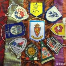 Coleccionismo deportivo: BANDERINES-V39-B-ANTIGUO-BANDERINES DEPORTIVOS-VARIOS. Lote 159709462