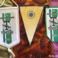 Coleccionismo deportivo: BANDERINES-V39-B-ANTIGUO-BANDERINES DEPORTIVOS-VARIOS. Lote 159709594