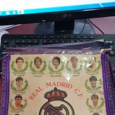 Coleccionismo deportivo: BANDERIN FUTBOL REAL MADRID QUINRA DEL BUITRE AÑOS 80. Lote 160078352