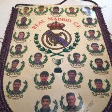 Coleccionismo deportivo: BANDERÍN REAL MADRID 1994/95. Lote 160993630