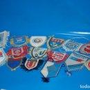Coleccionismo deportivo: COLECCIONISMO DEPORTIVO-LOTE DE 14 BANDERINES DE FUTBOL · DISTINTOS EQUIPOS . Lote 161089774