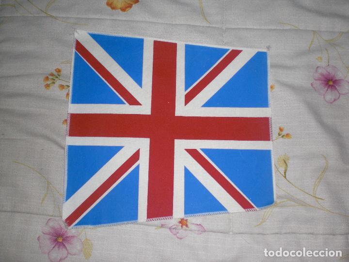 BANDERA GRAN BRETAÑA (Coleccionismo Deportivo - Banderas y Banderines de Fútbol)