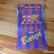 Coleccionismo deportivo: F C BARCELONA 10 BANDERAS / BANDERINES DEL CLUB BARÇA . Lote 162063990