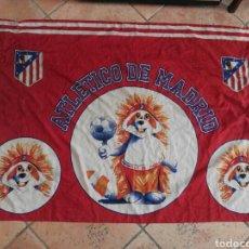 Coleccionismo deportivo: BANDERA ATLÉTICO DE MADRID. Lote 162152222
