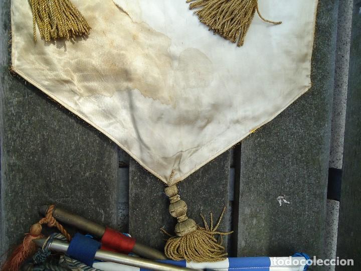 Coleccionismo deportivo: BANDERÍN SELECCIONES REGIONALES JUVENILES 1966 DE GRAN TAMAÑO 76 X 50 cm. RARO CON ESCUDO VALENCIA - Foto 12 - 162598694