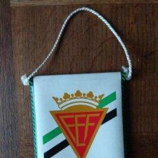 Coleccionismo deportivo: BANDERIN DE FEDERACION ESPAÑOLA DE FUTBOL - DE PIEL- . Lote 162841878