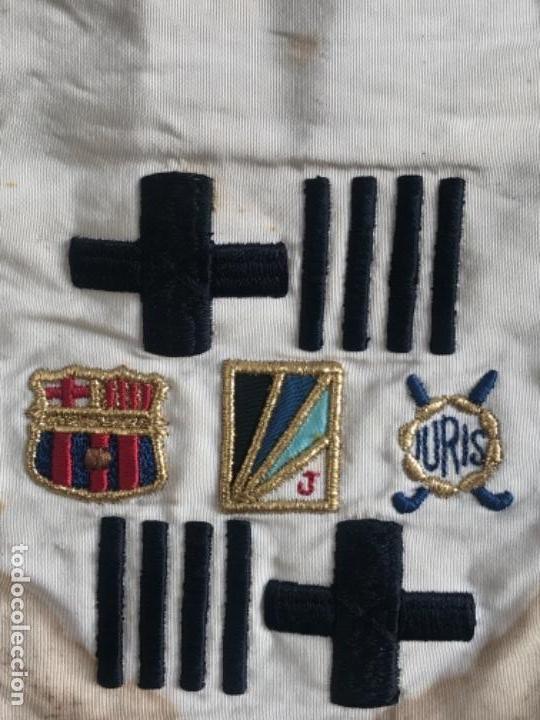 Coleccionismo deportivo: BANDERIN TORNEO CIUDAD DE BARCELONA TROFEO PABLO NEGRE IN MEMORIAM 1975. FÚTBOL CLUB BARCELONA. - Foto 3 - 164054550