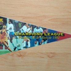Collezionismo sportivo: LOS BANDERINES DEL BARÇA 98 / 99 , BANDERIN ADHESIVO DE CHAMPIONS WEMBLEY , 1998 - 1999 NIKE SPORT. Lote 164663858