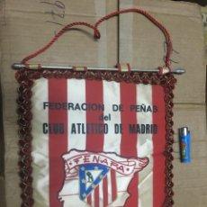Collectionnisme sportif: BANDERIN ATLETICO MADRID PEÑA ATLETICA FEDERACION DE PEÑAS FENAPA. Lote 164767186