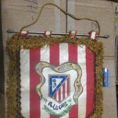 Collectionnisme sportif: BANDERIN ATLETICO MADRID PEÑA ATLETICA EL PARQUE ALUCHE. Lote 164767202