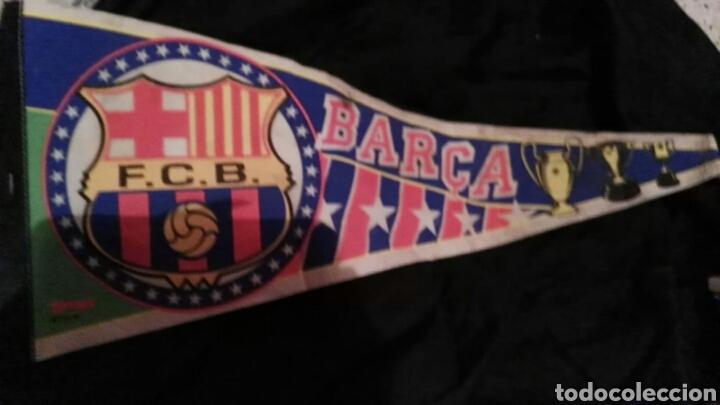 Coleccionismo deportivo: lote banderines banderas llaveros guantes boxeo camiseta larsson nº7 llaveros gorras fc barcelona - Foto 4 - 165610704