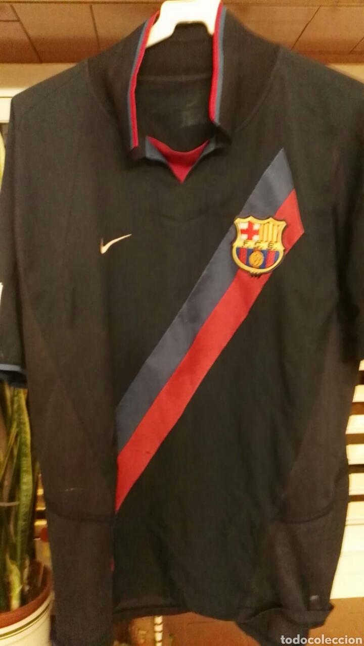 Coleccionismo deportivo: lote banderines banderas llaveros guantes boxeo camiseta larsson nº7 llaveros gorras fc barcelona - Foto 5 - 165610704