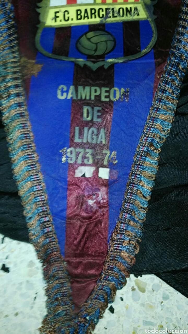 Coleccionismo deportivo: lote banderines banderas llaveros guantes boxeo camiseta larsson nº7 llaveros gorras fc barcelona - Foto 7 - 165610704