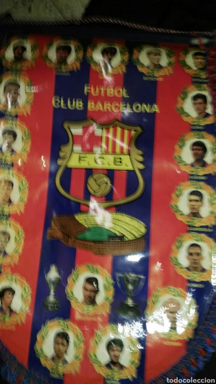 Coleccionismo deportivo: lote banderines banderas llaveros guantes boxeo camiseta larsson nº7 llaveros gorras fc barcelona - Foto 9 - 165610704