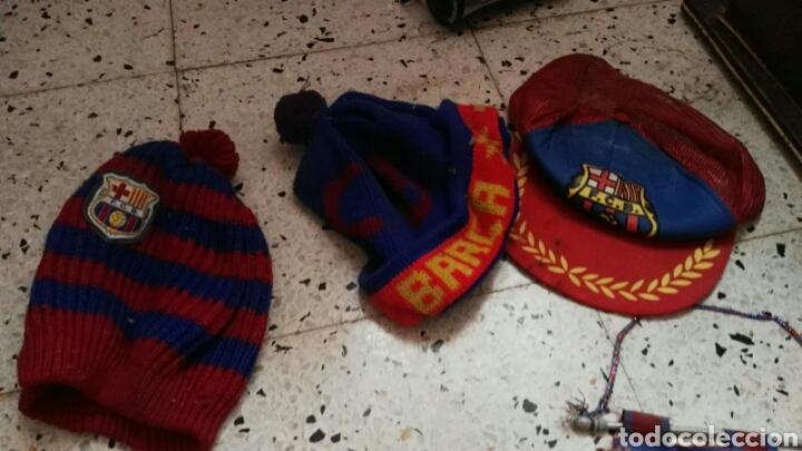 Coleccionismo deportivo: lote banderines banderas llaveros guantes boxeo camiseta larsson nº7 llaveros gorras fc barcelona - Foto 15 - 165610704
