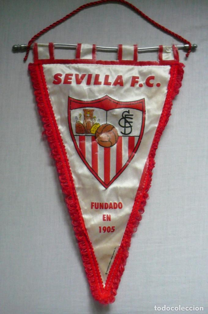 1 BANDERIN DEL SEVILLA (Coleccionismo Deportivo - Banderas y Banderines de Fútbol)