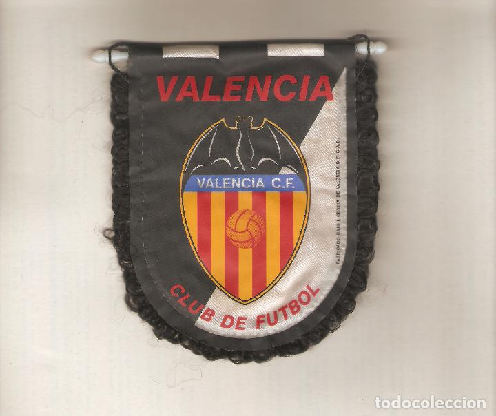1 BANDERIN DEL VALENCIA (Coleccionismo Deportivo - Banderas y Banderines de Fútbol)