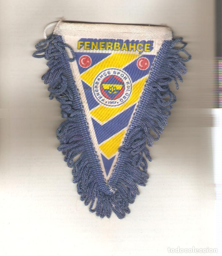 1 BANDERIN DEL FENERBAHCA TURCO (Coleccionismo Deportivo - Banderas y Banderines de Fútbol)