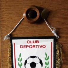Coleccionismo deportivo: BANDERIN PENNANT OFICIAL FUTBOL CLUB DEPORTIVO GUALALIX 12X14 CMS. Lote 166774002