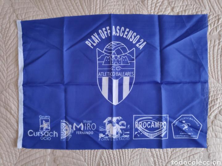BANDERA ATLETICO BALEARES. FUTBOL. SEGUNDA B (Coleccionismo Deportivo - Banderas y Banderines de Fútbol)