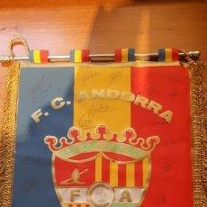Coleccionismo deportivo: BANDERIN OFICIAL FC ANDORRA. Lote 166949200