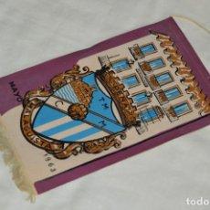 Coleccionismo deportivo: ANTIGUO BANDERÍN - MÁLAGA 1963 - PEÑA MALAGUISTA - MAYO DE 1963 - VINTAGE - HAZ OFERTA. Lote 171027817