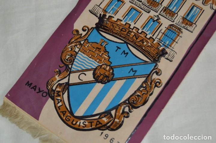 Coleccionismo deportivo: ANTIGUO BANDERÍN - MÁLAGA 1963 - PEÑA MALAGUISTA - MAYO DE 1963 - VINTAGE - HAZ OFERTA - Foto 3 - 171027817