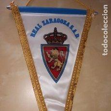 Coleccionismo deportivo: BANDERÍN REAL ZARAGOZA PENNANT. Lote 171757625