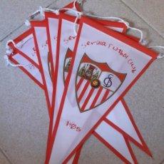 Coleccionismo deportivo: LOTE 6 BANDERINES SEVILLA FUTBOL CLUB 1905. CENTENARIO.. Lote 171820742