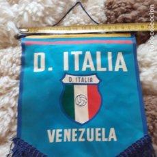 Coleccionismo deportivo: BANDERIN DE FUTBOL DEPORTIVO ITALIA EQUIPO DESAPARECIDO DE LA LIGA VENEZOLANA. Lote 172796659