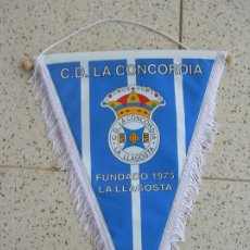 Coleccionismo deportivo: BANDERIN DEL ,C,D LA CONCORDIA ,DE LA LLAGOSTA. Lote 172952388