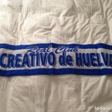 Coleccionismo deportivo: BUFANDA RECREATIVO HUELVA . Lote 173064618
