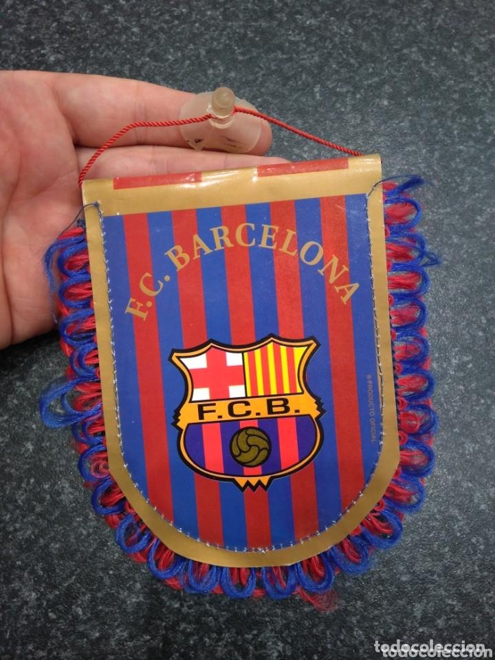 BANDERÍN FC FUTBOL CLUB BARCELONA (Coleccionismo Deportivo - Banderas y Banderines de Fútbol)