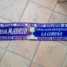 Coleccionismo deportivo: REAL MADRID CORUÑA FINAL COPA REY. Lote 173446617